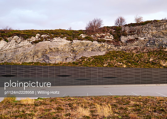Norway, Parking area on the Atlantic Road - p1124m2228958 by Willing-Holtz