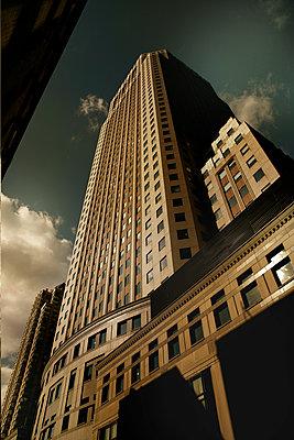Wolkenkratzer, NYC - p1276m1092421 von LIQUID