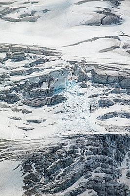Bernina glacier - p842m2073339 by Renée Del Missier