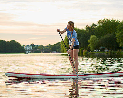 Outer Alster Lake - p1124m1055761 by Willing-Holtz