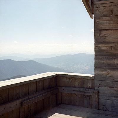Alpine hut in Italy - p4410452 by Maria Dorner