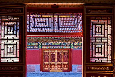 Palace of Tranquil Longevity, the Forbidden City, Beijing, China - p871m2077679 by Bruno Morandi