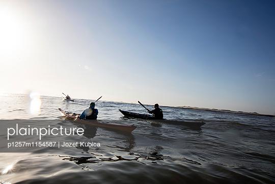Nordsee im Kajak - p1257m1154587 von Jozef Kubica