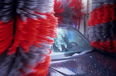 Car wash - p2360766 by tranquillium