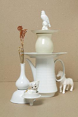 Turm aus Porzellan - p5250049 von Anne Deppe