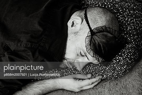 Schlafmaske - p858m2007921 von Lucja Romanowska