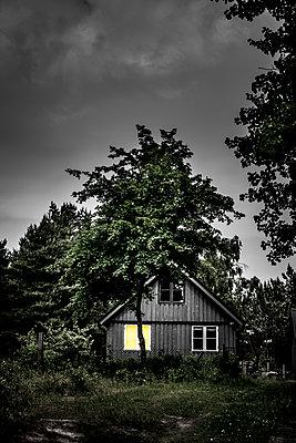 Haus im Wald - p248m1462783 von BY