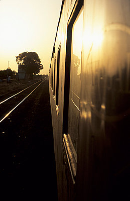 Train in India - p8700079 by Gilles Rigoulet