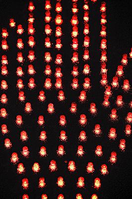 Rote Hand - p3200422 von Jens Haas