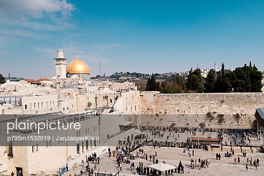 Old city Jerusalem - p795m1532019 by Janklein