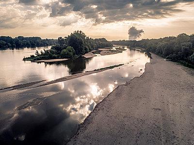 France, Loire landscape - p1402m2281025 by Jerome Paressant