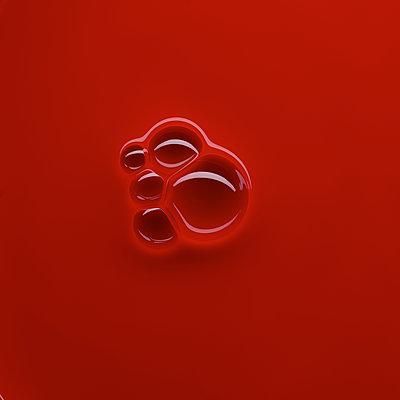 Blasen auf roter Flüssigkeit - p587m2227515 von Spitta + Hellwig