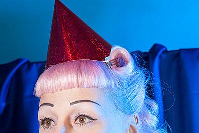 Party Hat - p387m1030576 by Patricia Eichert