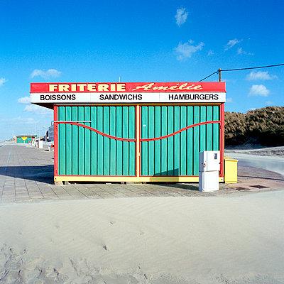 Strandbude - p5450011 von Ulf Philipowski