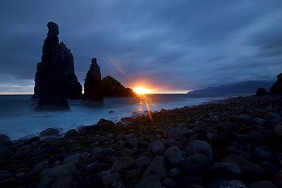 Sunrise at Ribeira da Janela - p1399m2089851 by Daniel Hischer