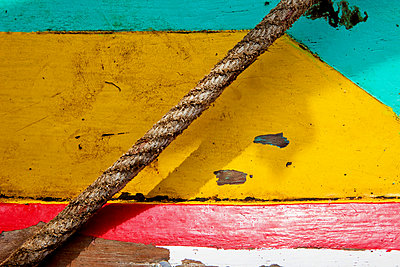 Weathered boat - p6370211 by Florian Stern