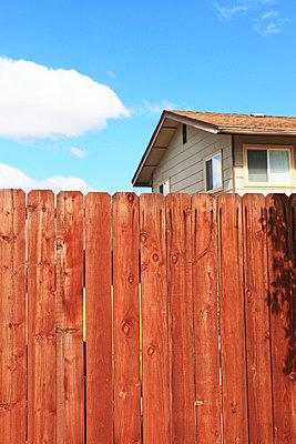 Wooden fence - p0452699 by Jasmin Sander