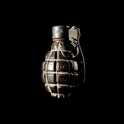 Hand grenade - p1205m1065997 by Klaus Pichler