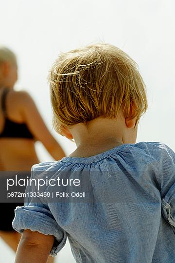 Blondes kleines Mädchen - p972m1333458 von Felix Odell