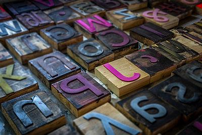 Buchstaben - p1275m2005200 von cgimanufaktur