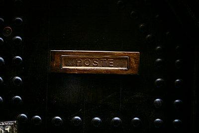 Briefschlitz in Tür - p5020231 von Tomas Adel