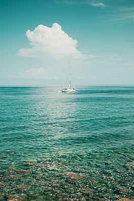 Sailing boat - p947m2119506 by Cristopher Civitillo