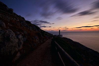 Italy, Lighthouse at Cape Palascia - p1399m2217348 by Daniel Hischer