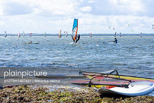 Windsurfer auf Fehmarn - p1273m1467427 von melanka