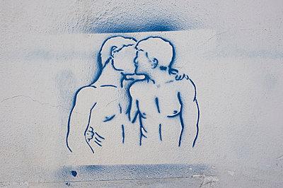 Graffiti - p1164m951920 von Uwe Schinkel