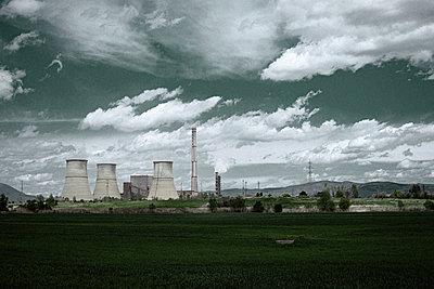 Bulgaria, Power station - p1432m2283925 by Svetlana Bekyarova