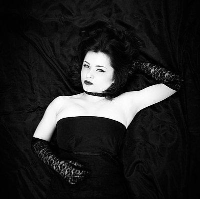 Portrait - p1445m1510535 by Eugenia Kyriakopoulou