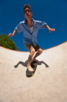 Skateboarding - p2200808 by Kai Jabs