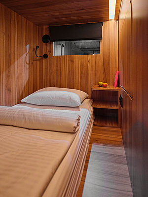 Russia, Capsule Hotel in Moscow - p390m2287798 by Frank Herfort