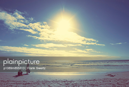 Warten auf die Welle - p1089m855313 von Frank Swertz