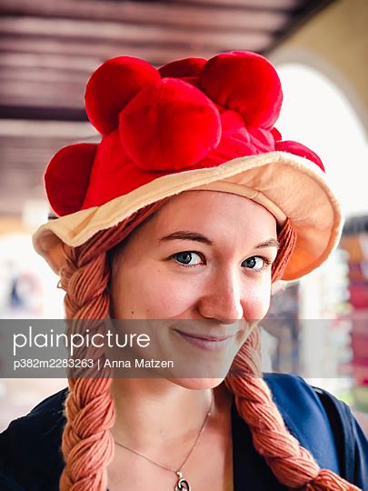 Black Forest Girl - p382m2283263 by Anna Matzen