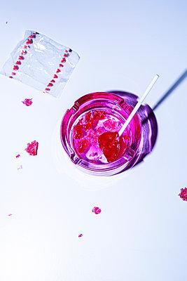 Lollipop in ashtray - p1149m2192768 by Yvonne Röder