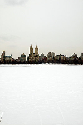 Central Park in winter - p3882073 by L.B.Jeffries