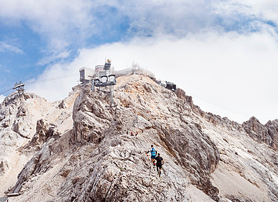 Zugspitze - p608m1538654 von Jens Nieth