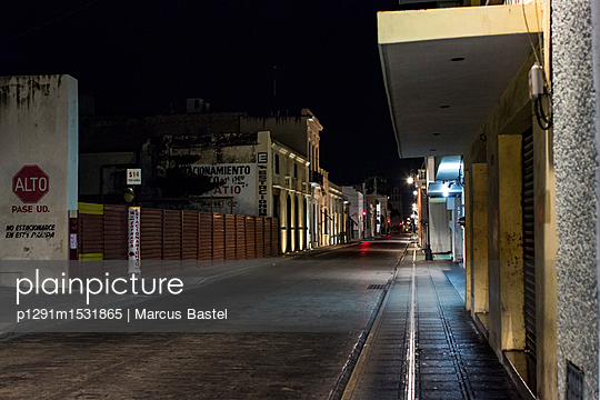 Deserted town - p1291m1531865 by Marcus Bastel
