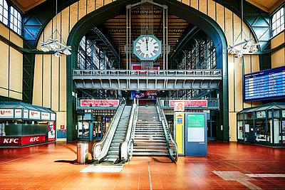 Central station, Hamburg, shutdown due to Covid-19 - p1276m2178425 by LIQUID