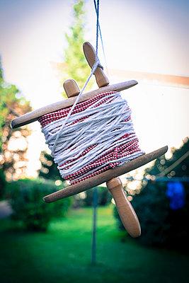Wäscheleine aufwickeln - p1149m1169208 von Yvonne Röder