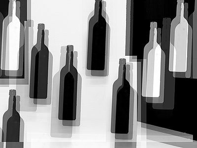 Bottles - p1413m2065218 by Pupa Neumann