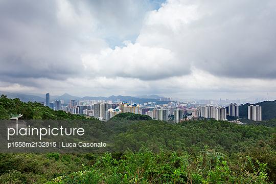 A viewpoint above Tsing Yi, Hong Kong - p1558m2132815 by Luca Casonato