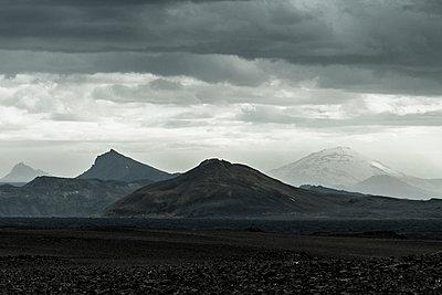 Volcanic landscape - p1585m2285352 by Jan Erik Waider