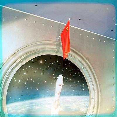 Space flight - p230m2152694 by Peter Franck