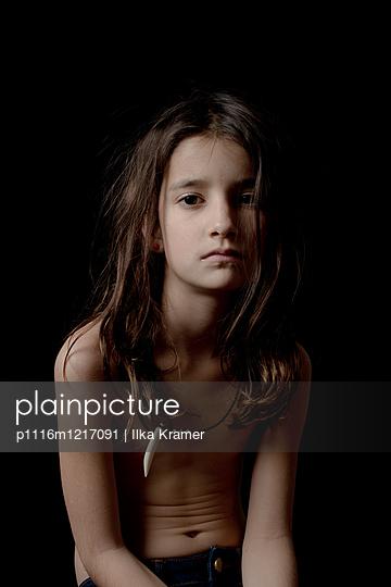 Ernstes Mädchen - p1116m1217091 von Ilka Kramer