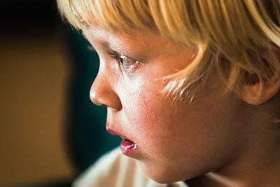 Little boy  - p1418m1592088 by Jan Håkan Dahlström