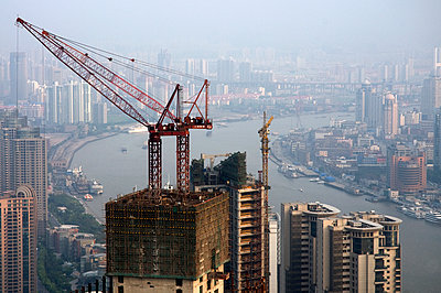 China - Shanghai - p589m1091312 by Thierry Beauvir