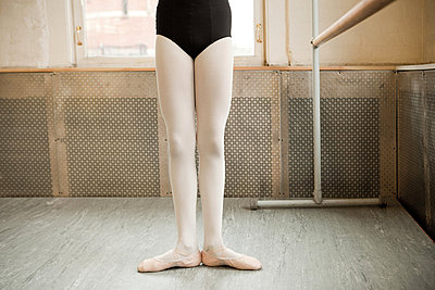 Legs of a ballerina - p9242635f by Image Source