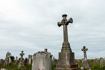 Graveyard Monuments - p1309m1146254 by Robert Lambert